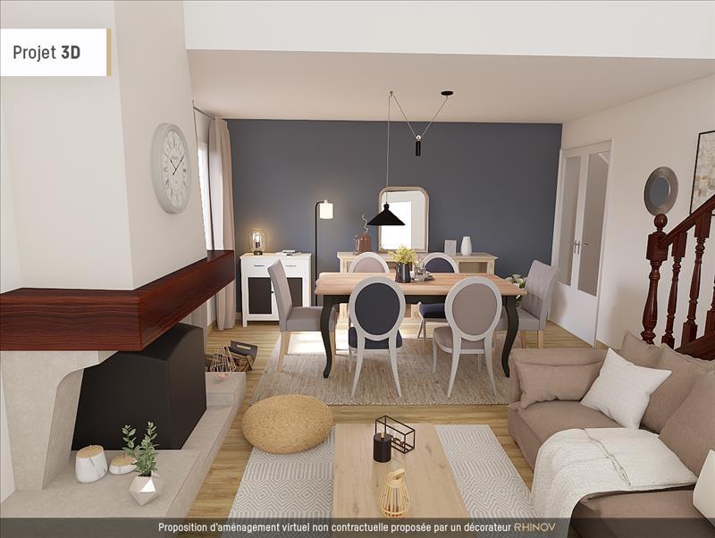 Vente Maison LES MUREAUX (78130) - 6 pièces - 110 m² - Quartier Bècheville - Apremont
