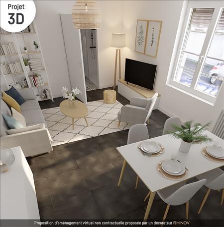 Vente Appartement BORDEAUX (33100) - 2 pièces - 30 m² - Quartier Bordeaux Bastide