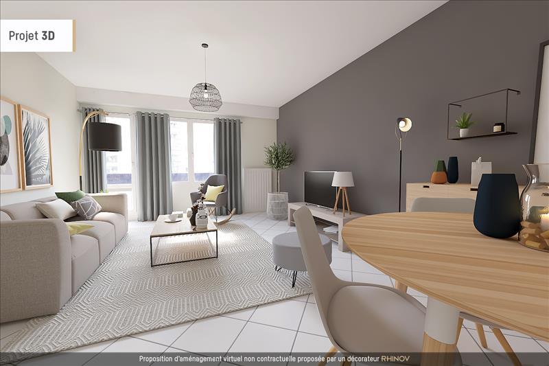 Vente Appartement LYON 09 (69009) - 3 pièces - 68 m² - Quartier Lyon 9