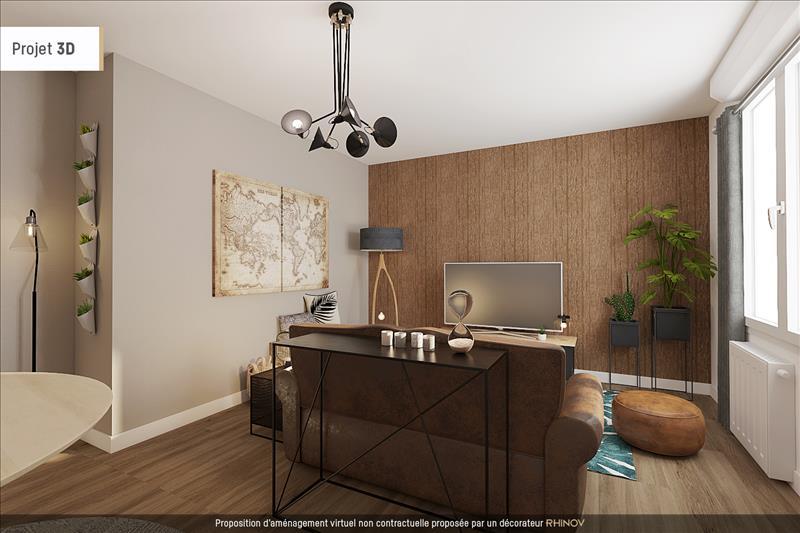 Vente Appartement LYON 09 (69009) - 2 pièces - 50 m² - Quartier Lyon|Lyon 9