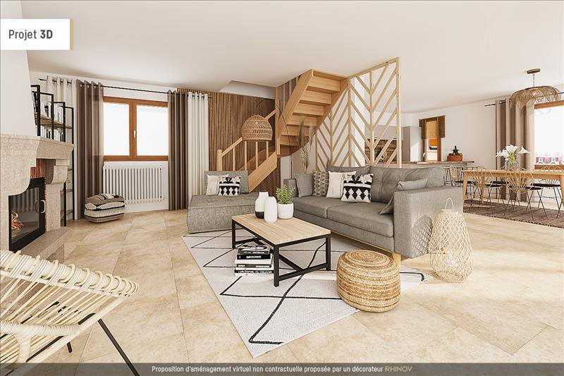 Vente Maison AUBERGENVILLE (78410) - 6 pièces - 120 m² -