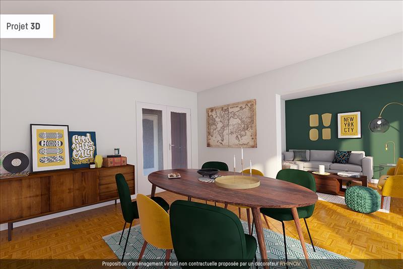 Vente Appartement AUBERGENVILLE (78410) - 4 pièces - 74 m² -