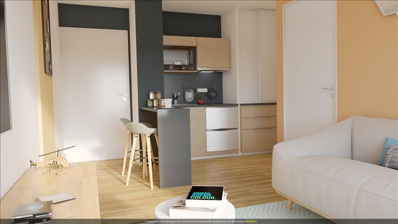 Vente Appartement SETE (34200) - 2 pièces - 21 m² - Quartier Centre-ville - Gare - La Marine