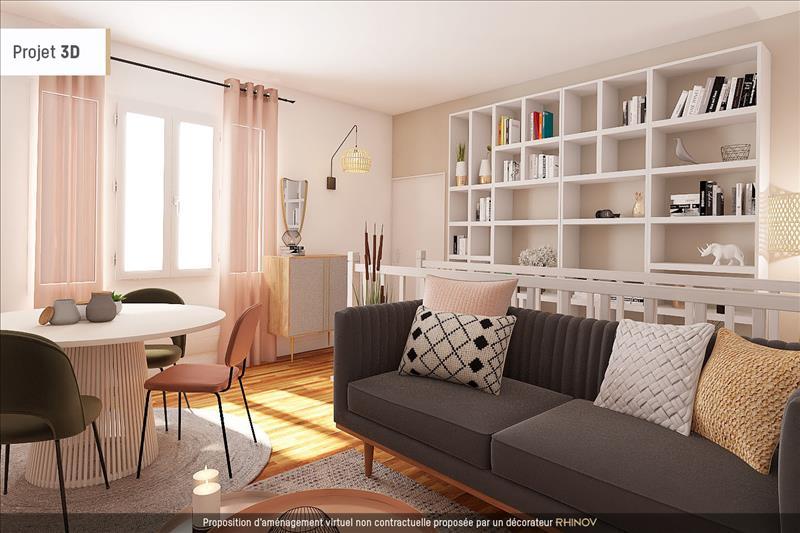 Vente Appartement BORDEAUX (33000) - 3 pièces - 75 m² - Quartier Bordeaux|St Paul - St Michel - Capucins