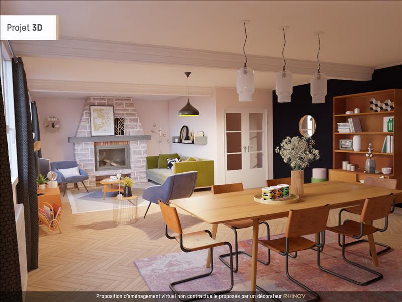 Vente Maison CHALAGNAC (24380) - 6 pièces - 153 m² -