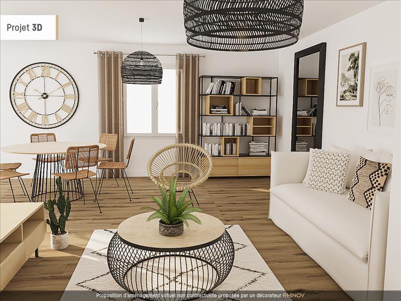 Vente Maison ANGOULEME (16000) - 5 pièces - 100 m² - Quartier Angoulême|Saint-Cybard