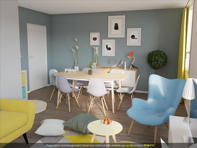 vente appartement st cyr sur loire 37540 4 pi ces 70 m 298 660 bourse de l 39 immobilier. Black Bedroom Furniture Sets. Home Design Ideas
