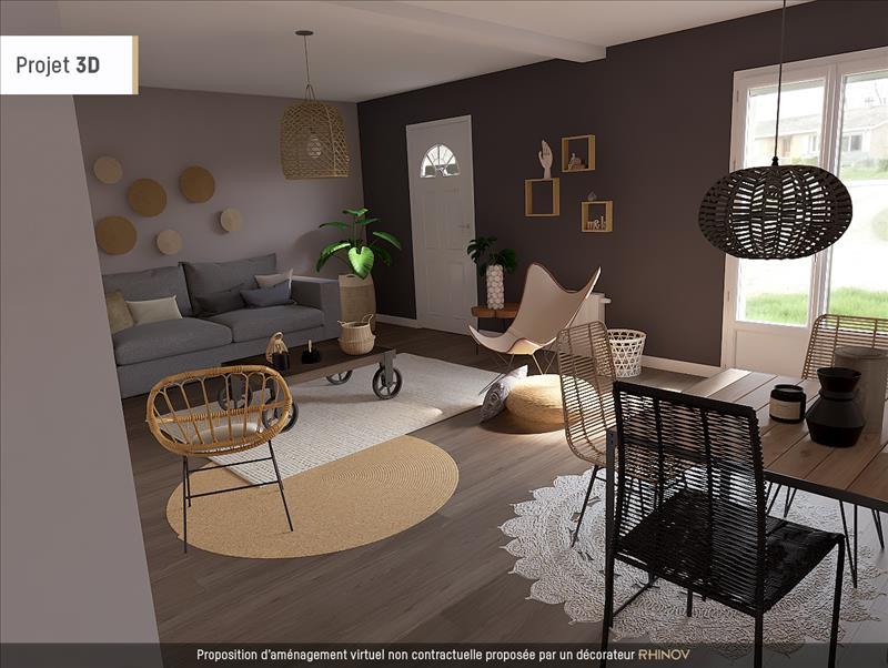 Vente Maison CAMIAC ET ST DENIS (33420) - 4 pièces - 90 m² -