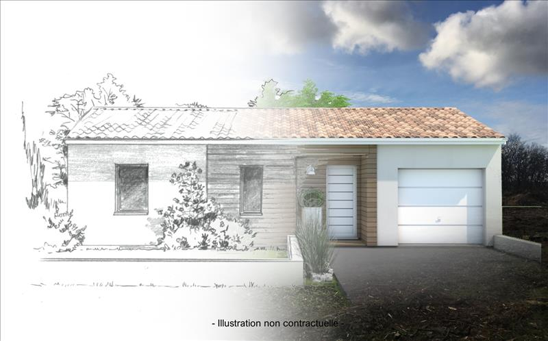 Vente Terrain CROIGNON (33750) - 620 m² -