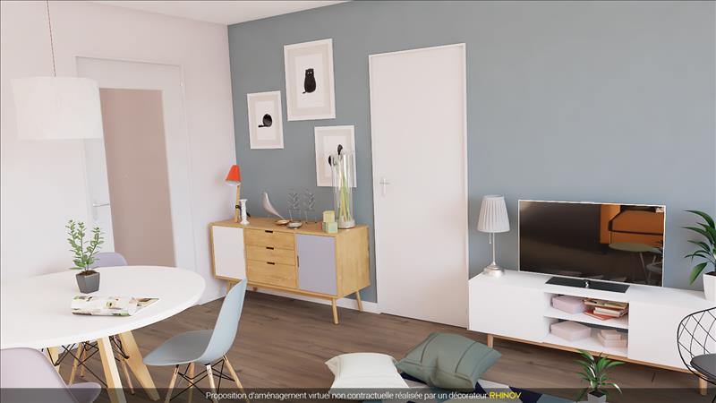 Vente Appartement COGNAC (16100) - 3 pièces - 40 m² -