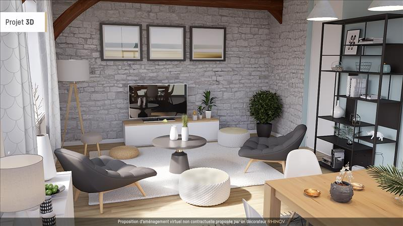Vente Maison CHATEAUBERNARD (16100) - 5 pièces - 114 m² -