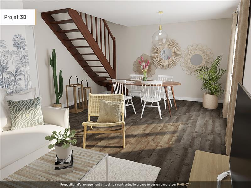 Vente Maison ST FONS (69190) - 4 pièces - 78 m² -