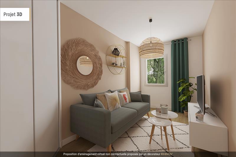 Vente Appartement LYON 08 (69008) - 3 pièces - 65 m² - Quartier Lyon|Lyon 8