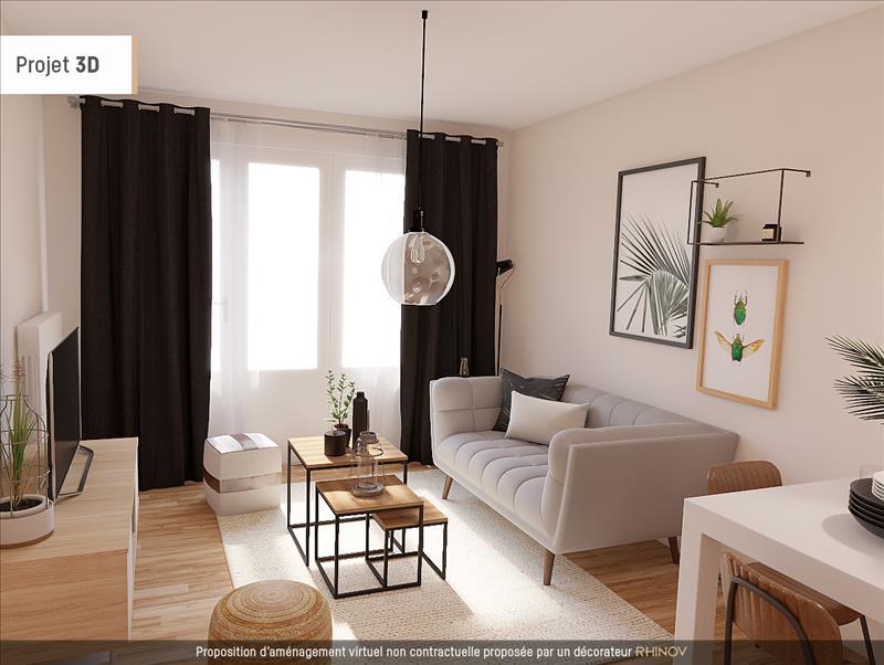 Vente Appartement NEUVILLE SUR SAONE (69250) - 3 pièces - 62 m² -