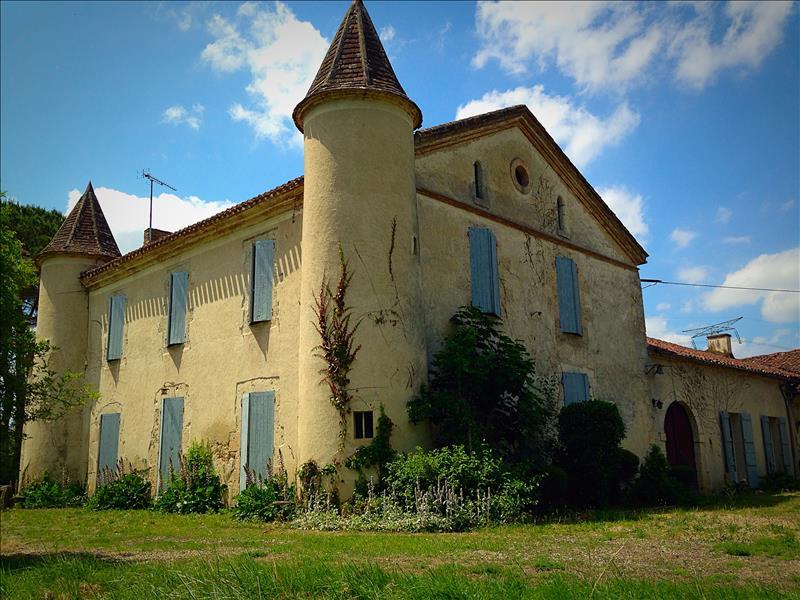 Vente Château SERIGNAC SUR GARONNE (47310) - 9 pièces 300 m²