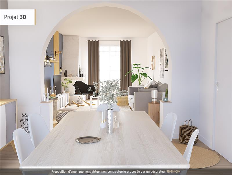 Vente Maison JUZIERS (78820) - 5 pièces - 75 m² -