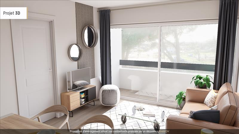 Vente appartement andernos les bains 33510 2 pi ces 34 for Simulation appartement 3d