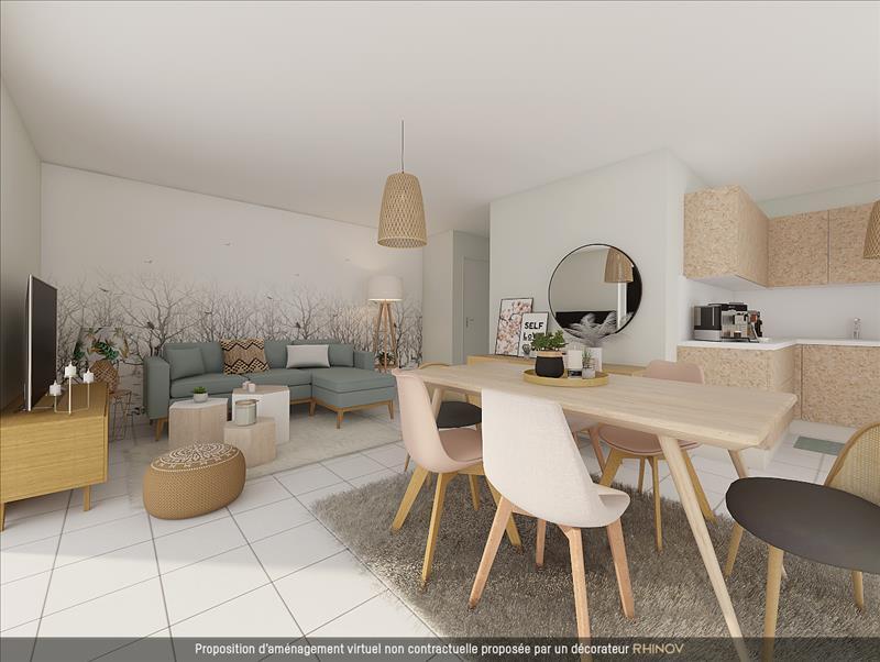 Vente Appartement BALMA (31130) - 3 pièces - 50 m² -