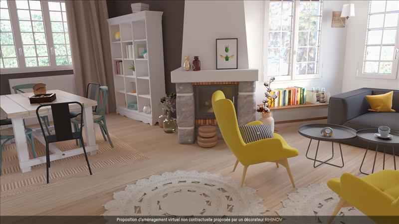 Vente Maison PLESTIN LES GREVES (22310) - 7 pièces - 130 m² -
