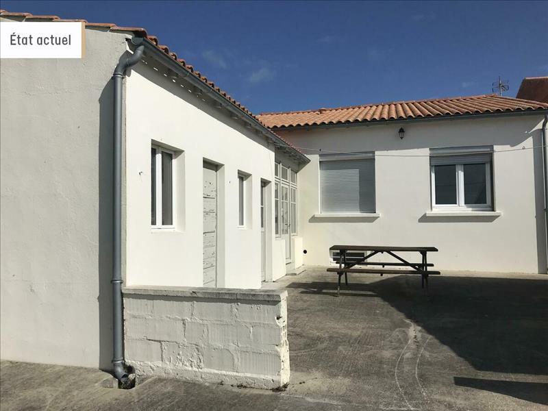 Vente Maison BOURCEFRANC LE CHAPUS (17560) - 4 pièces - 74 m² -
