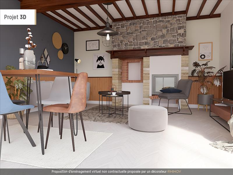 Vente Maison GAYAN (65320) - 5 pièces - 119 m² -