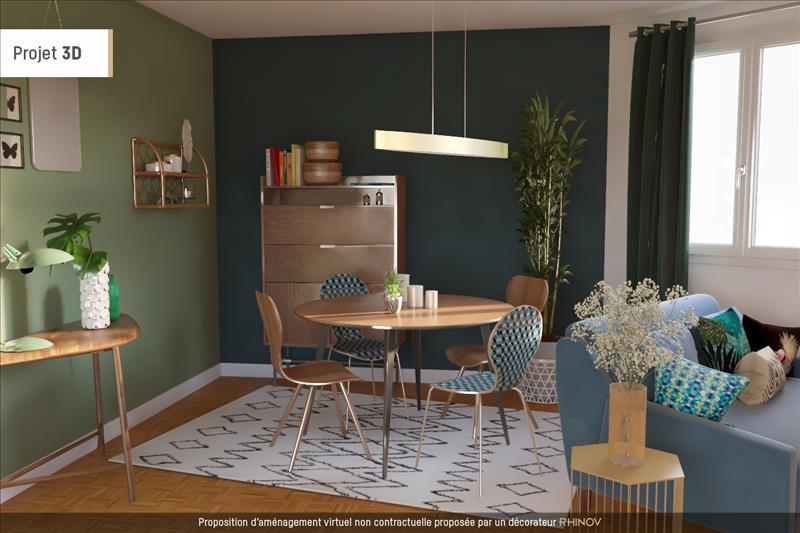Vente Appartement DOUARNENEZ (29100) - 3 pièces - 57 m² -