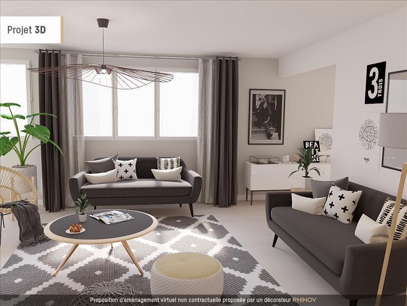 Vente Appartement MONTS (37260) - 5 pièces - 91 m² -