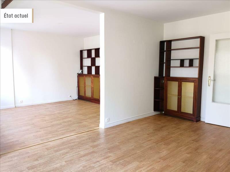 Vente Appartement BOURGES (18000) - 4 pièces - 88 m² -