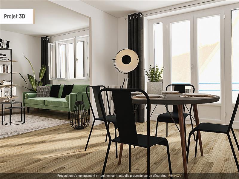 Vente Appartement BOURGES (18000) - 4 pièces - 116 m² -