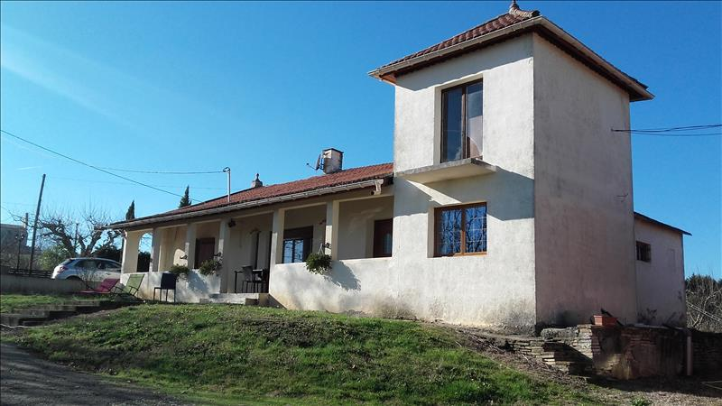Vente Maison DURFORT LACAPELETTE (82390) - 4 pièces 128 m²