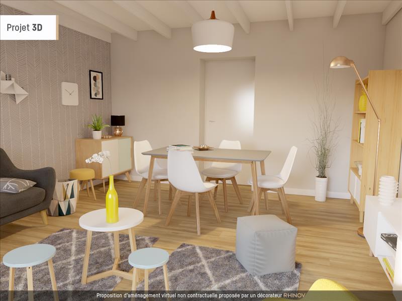 Vente Maison RUELLE SUR TOUVRE (16600) - 3 pièces - 55 m² -