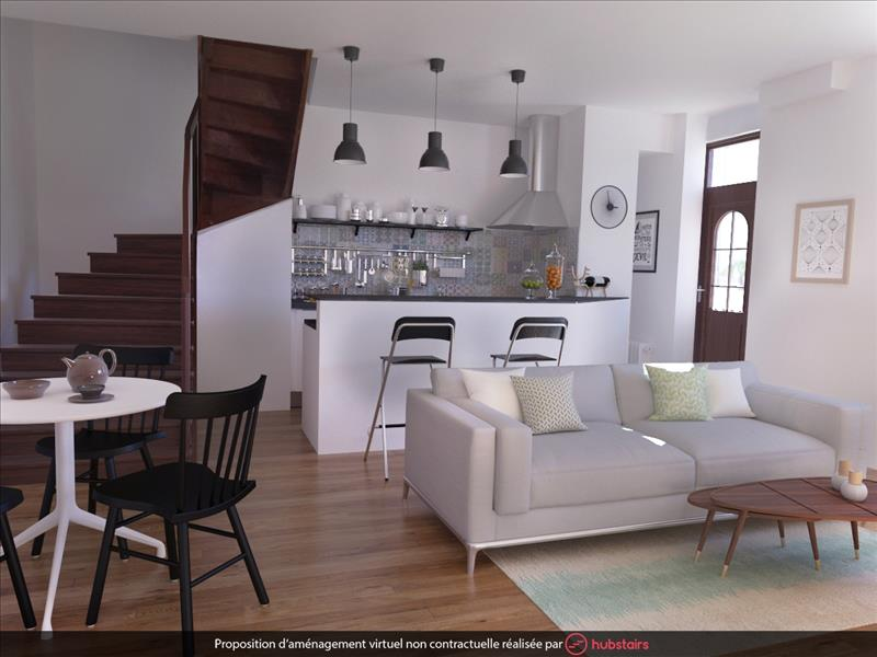 Vente Maison RUELLE SUR TOUVRE (16600) - 3 pièces - 80 m² -