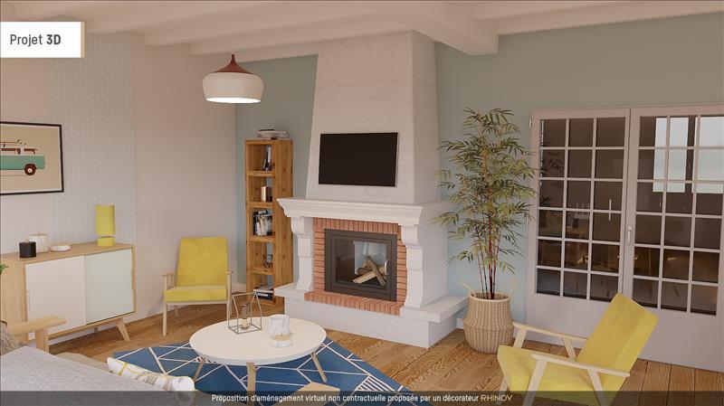 Vente Maison MAGNAC SUR TOUVRE (16600) - 7 pièces - 154 m² -