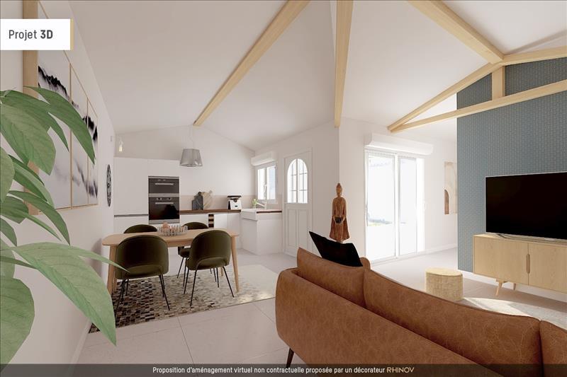 Vente Maison ANGOULINS (17690) - 2 pièces - 40 m² -