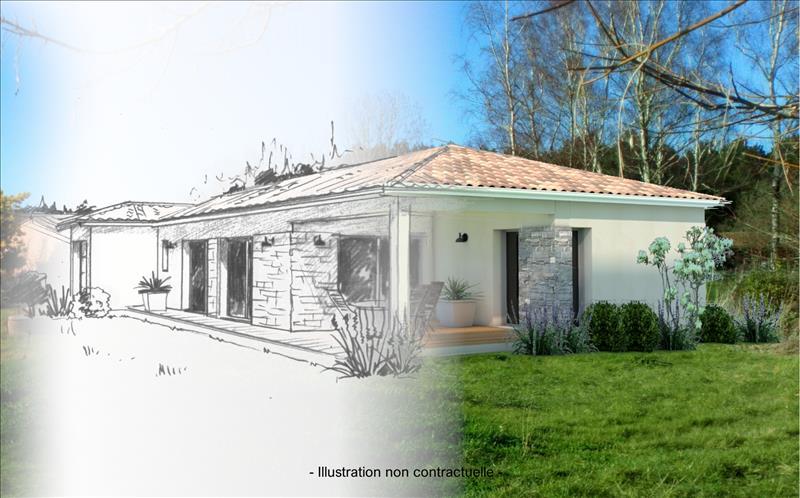 Vente Terrain TALAIS (33590) - 1187 m² -