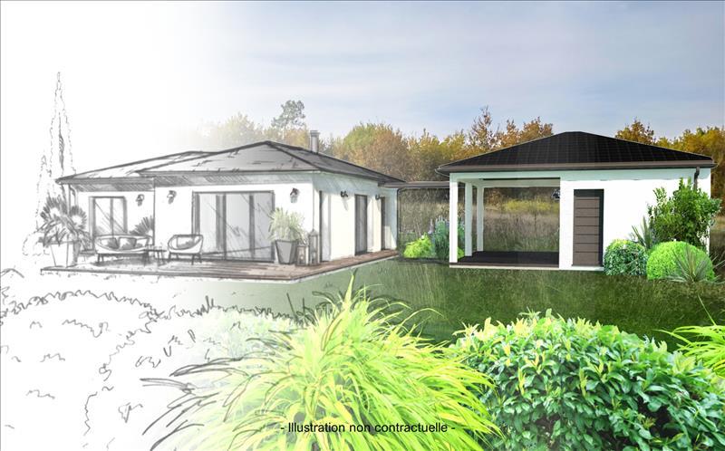 Vente Terrain CHAMADELLE (33230) - 1267 m² -