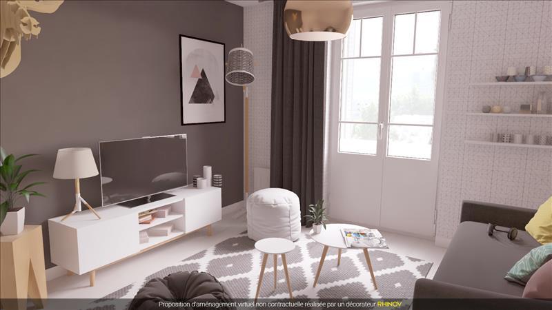Vente appartement lyon 07 69007 2 pi ces 55 m 353 37 for Simulation appartement 3d