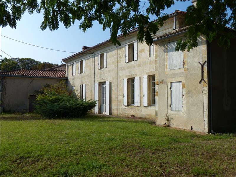 Vente Maison FLAUJAGUES  (33350)