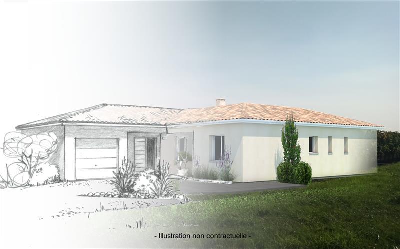 Vente Terrain BLASIMON (33540) - 1450 m² -