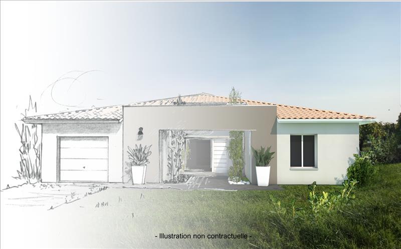 Vente Terrain BLASIMON (33540) - 1660 m² -