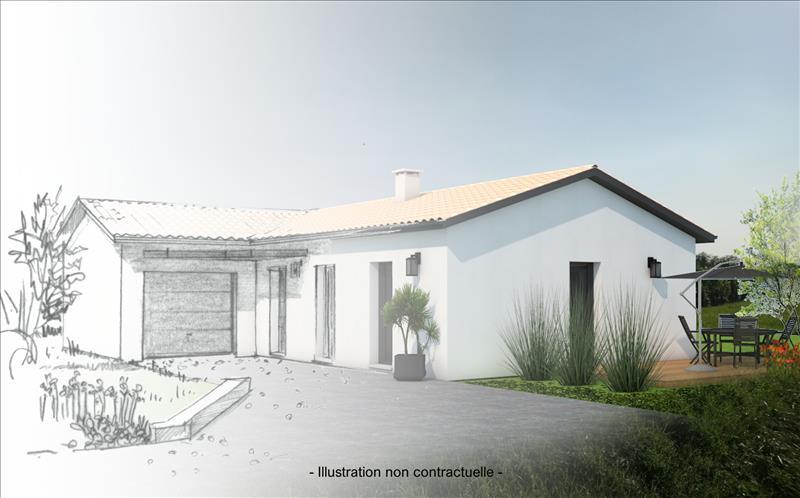 Vente Terrain BLASIMON (33540) - 1240 m² -