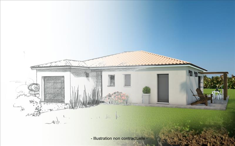 Vente Terrain BLASIMON (33540) - 1730 m² -