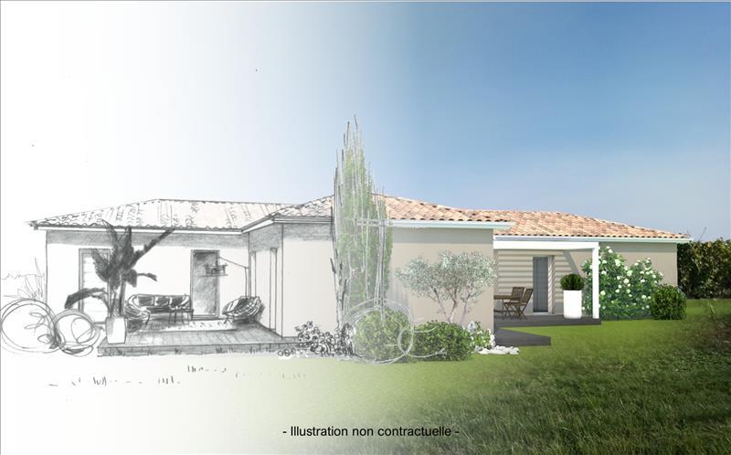 Vente Terrain BLASIMON (33540) - 1850 m² -