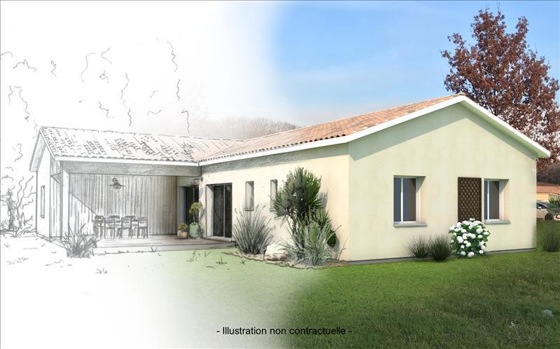 Vente Terrain LAMOTHE MONTRAVEL (24230) - 4 pièces - 981 m² -