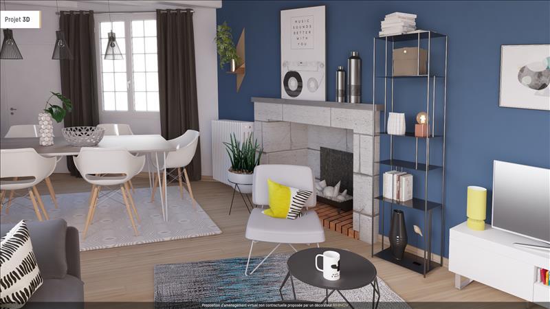 Vente Appartement CHINON (37500) - 2 pièces - 50 m² -