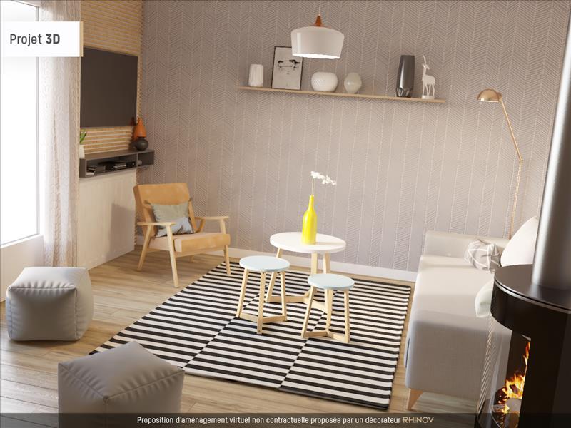 Vente Maison PEYRAT DE BELLAC (87300) - 4 pièces - 102 m² -