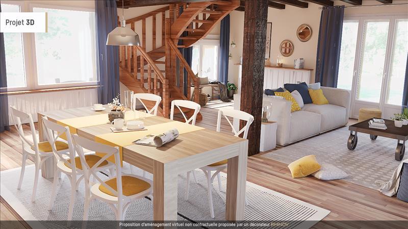 Vente Maison ST BONNET DE BELLAC (87300) - 5 pièces - 227 m² -