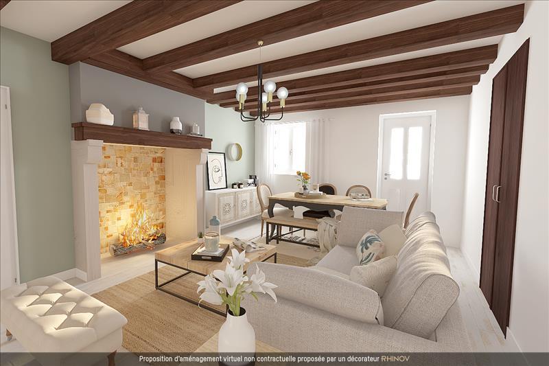 Vente Maison CHATEAUPONSAC (87290) - 6 pièces - 114 m² -