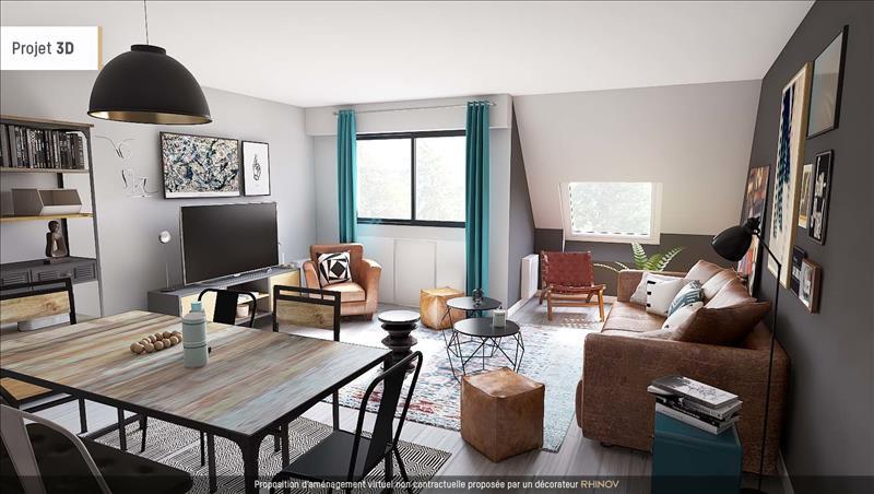 Vente appartement quimper 29000 bourse de l 39 immobilier for Appartement atypique quimper