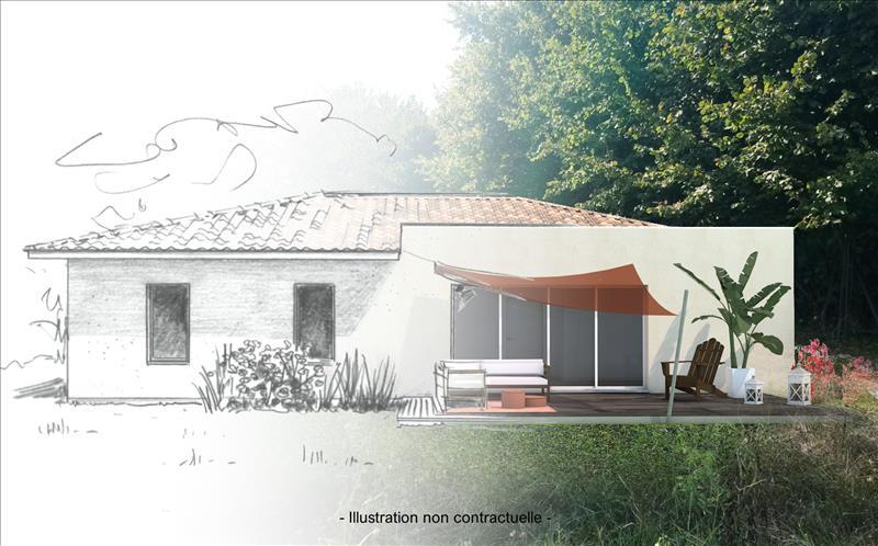 Vente Terrain MONTUSSAN (33450) - 625 m² -